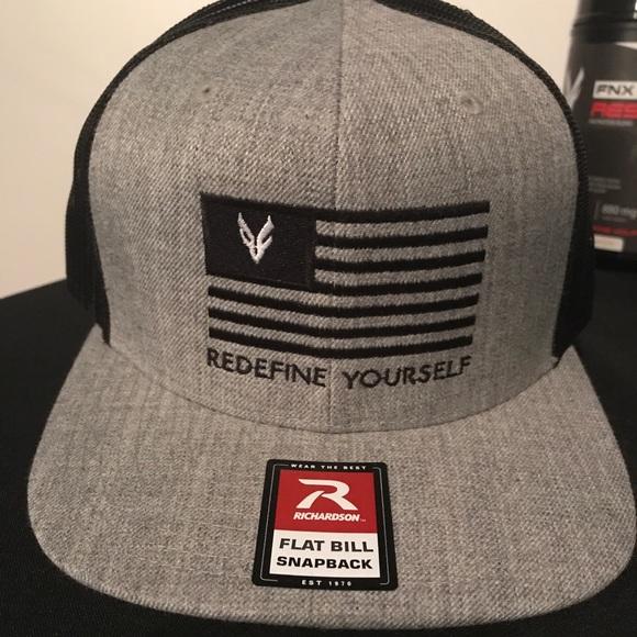 American Flag Trucker Hat NWT